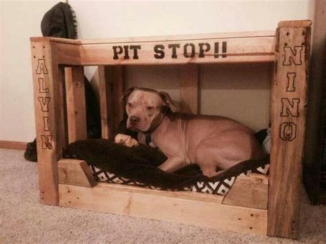 dog beds for pitbulls pitbull dog bed quot pit stop quot animals pinterest dog