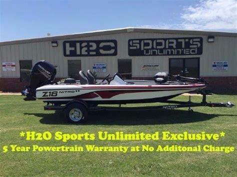 nitro bass boats for sale in oklahoma nitro z18 boats for sale in oklahoma