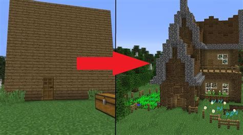 make your house 5 easy steps to improve your minecraft house youtube