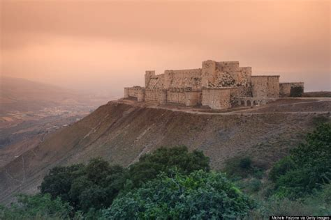 krak des chevaliers 26 castles that have reached fairytale status huffpost