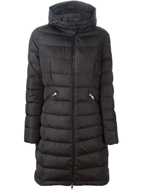 Padded Coat moncler flamette padded coat in black lyst