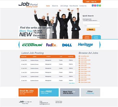 design online job portal business services websites design portfolio pearl like