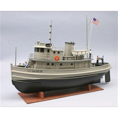 young brothers boats us army st 74 tug boat kit 1 48 scale ship and boat