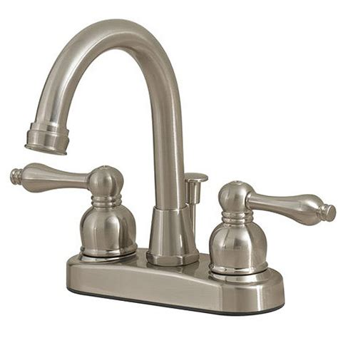 Walmart Bathroom Faucets by Solutions By Peerless Hi Rise Bath Faucet Satin Nickel