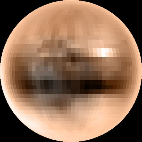 what color is pluto the color of pluto