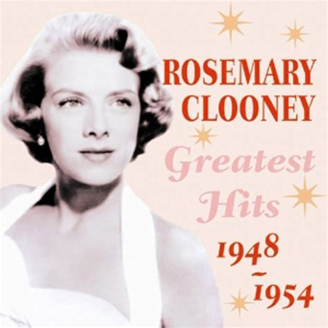 rosemary clooney for the duration greatest hits 1948 1954 rosemary clooney mp3 buy full