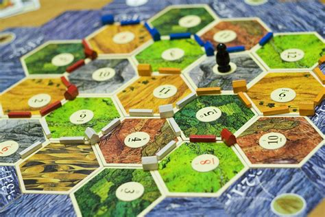 the probabilities in settlers of catan david