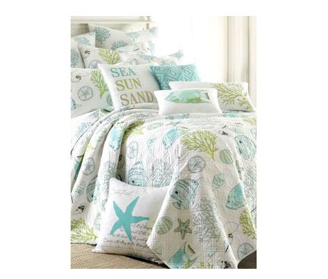 beachy bedding beach themed bedding ideas cottage bungalow