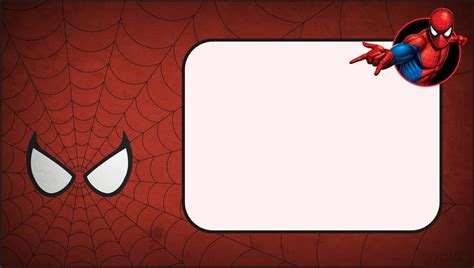 spider card template invitation layout cloudinvitation