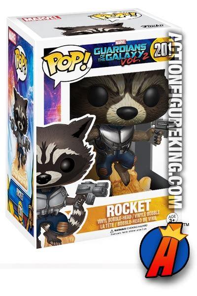 Original Funko Pop Marvel Guardians Galaxy Vol 2 Mini funko pop marvel guardians of the galaxy vol 2 rocket raccoon figure 201