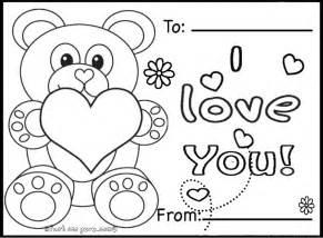printable valentines day cards teddy bearsfree printable