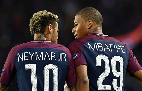 kylian mbappe and neymar kylian mbappe comments on neymar s situation at paris