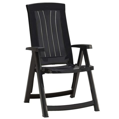 jardin stoelen kopen standenstoel corsica donker grijs blokker