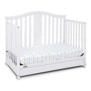 Graco Graco Solano 4 In 1 Convertible Crib With Drawer White Convertible Crib With Drawer