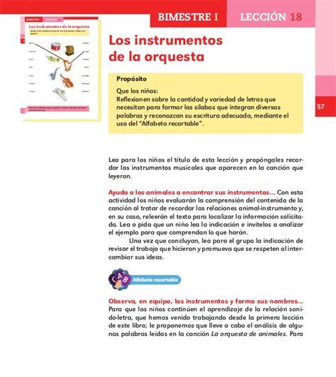 los instrumentos mi primer espa 241 ol 1 libro para el maestro