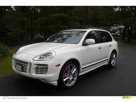 cayenne porsche white 2009 sand white porsche cayenne turbo s 19875959 photo