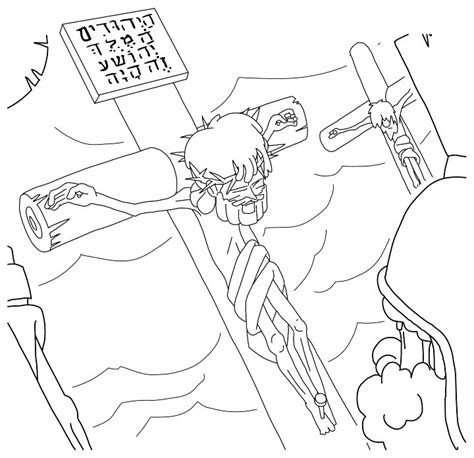 coloring pages jesus crucifixion the gallery for gt god on the cross coloring pages