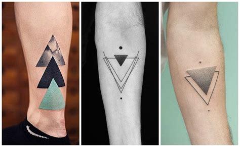 imagenes minimalistas de tattoos tatuajes de tri 225 ngulos su significado real y los