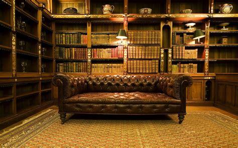 Bookshelf With Wheels Vintage Library Wallpaper 953494