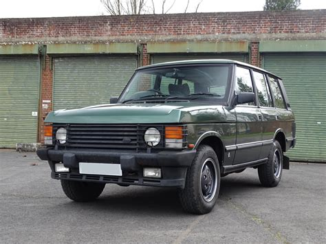 1988 range rover classic collector quality new 4 2l engine well sorted 1988 land rover range rover hagerty classic car price guide