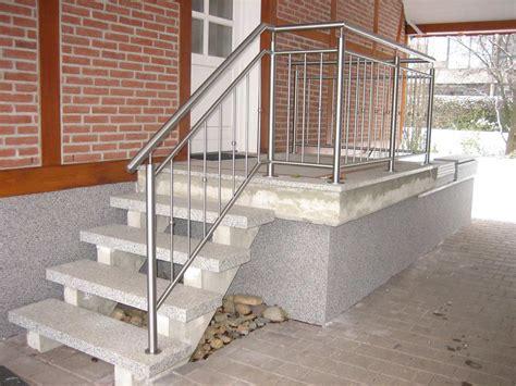 edelstahl treppengeländer treppengel 228 nder edelstahl bauschlosserei metallbau mei 223 ner