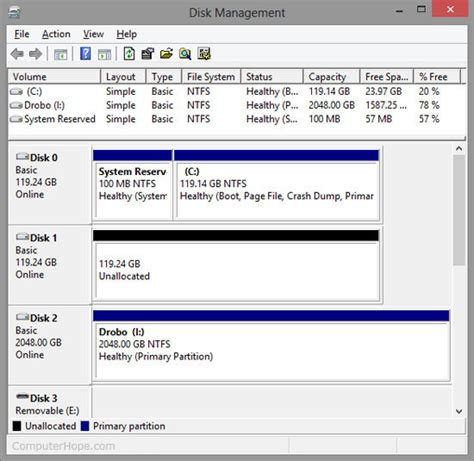 format hard drive computer management how to delete a partition in windows