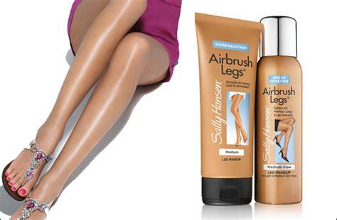 lipstick and lattes sally hansen brush on introducing leg makeup from sally hansen airbrush legs