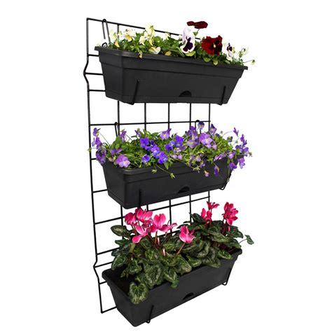 whites outdoor  pot garden  vertical garden set