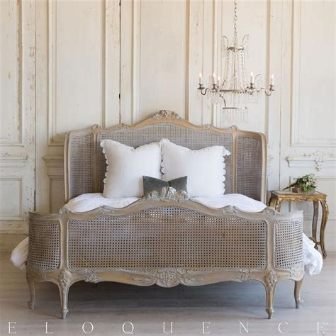 french country bedroom sets and headboards french country style vintage bed 1940 kathy kuo home
