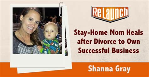 stay at home heals after divorce to own successful