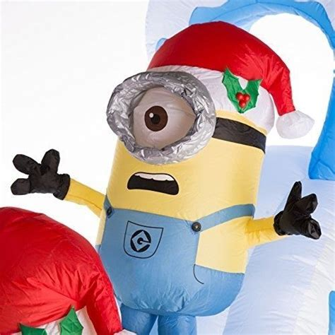 Minion Yard Decorations by Affordable Gemmy 7 87 Ft Lighted Minion