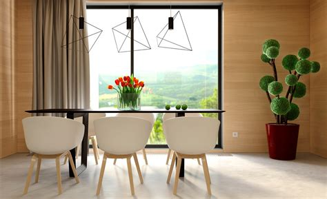 Flowers For Dining Table Three Cozy Colorful Modern Apartments