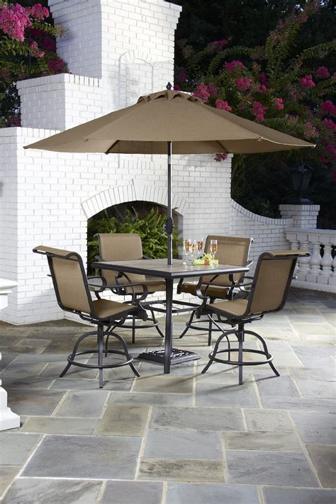 patio high dining table jaclyn smith today brookner high dining table dining