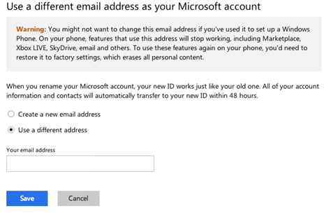 email microsoft account setting up a microsoft account for windows phone 8