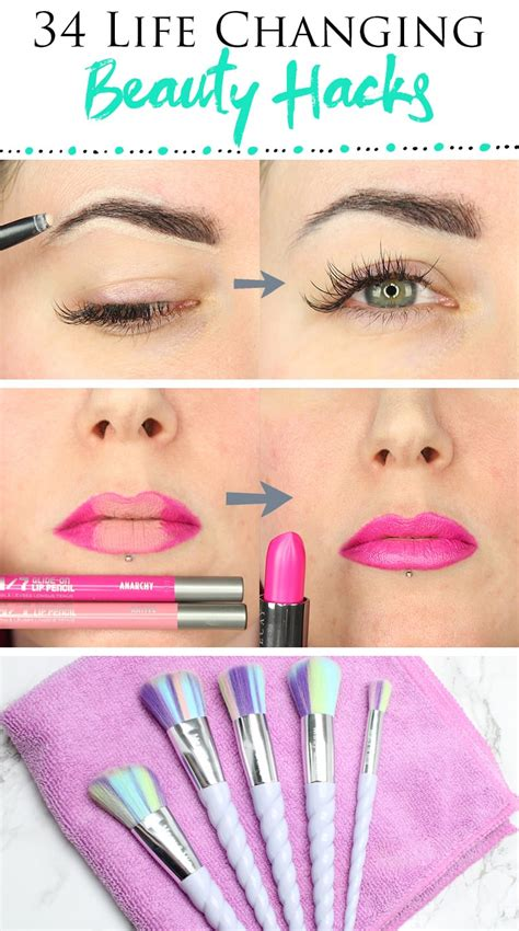 makeup hacks 34 best makeup hacks changing tips to make