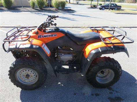 honda 4x4 rancher honda fourtrax rancher trx350 motorcycles for sale