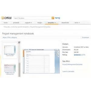 onenote project management templates using ms onenote project management for organization