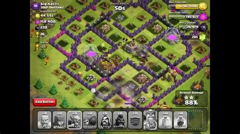 Clash Of Clans Account Giveaway 2014 - clash of clans some hog raids attacking my base design youtube
