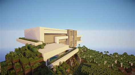 minecraft mountain house designs orbit modern mountain home minecraft house design