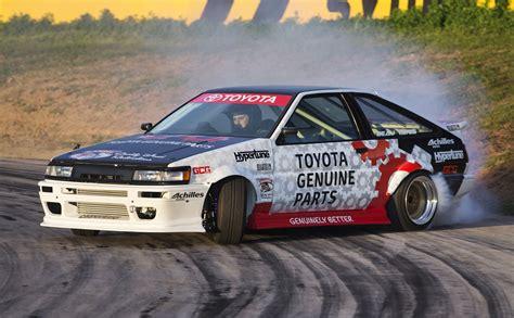 new drift drift king keiichi tsuchiya reveals restored toyota ae86