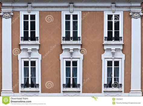 windows for front of house front of house with 6 windows stock image image 13523021