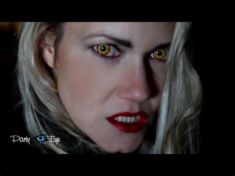 creepy colored contacts colored contact lenses creepy sfx horror