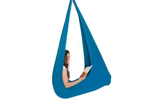 therapeutic swings inyard light blue jumbo therapy swing sensory oasis for kids
