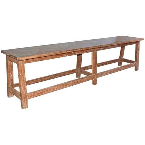 Rustic Teak Coffee Table Rustic Teak Bench Or Coffee Table For Sale At 1stdibs