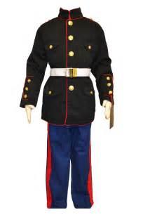 kids marine dress blues 3 piece set