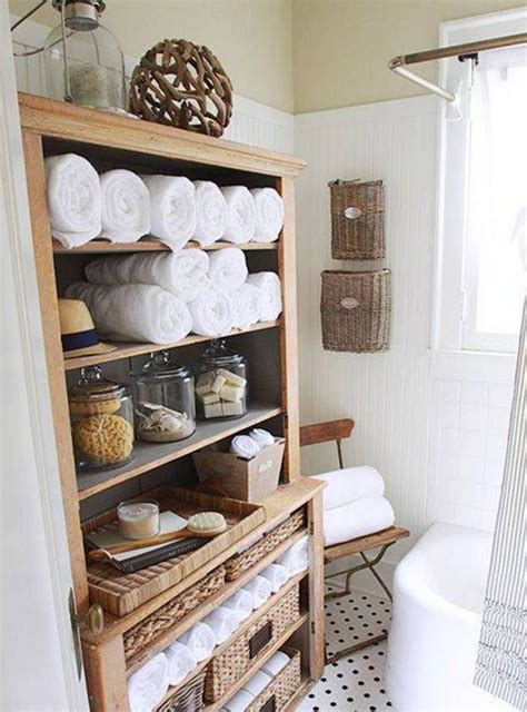 Rustic Bathroom Ideas For Small Bathrooms 12 towel holder and storage ideas for small bathroom top