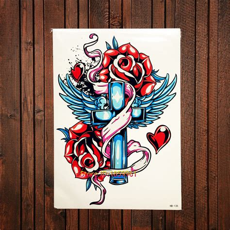 compare prices on vintage cross tattoos online shopping compare prices on rose cross tattoo online shopping buy