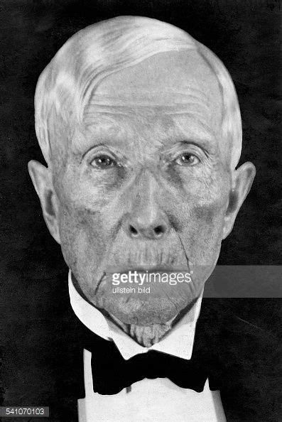 John D. Rockefeller. Portrait. | Portrait, John davison