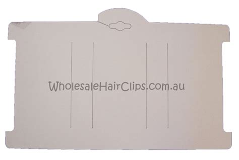 hair clip display card template headband display cards 25 pack card 6 00