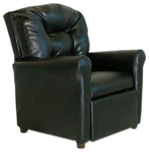 Black Leather Recliner With Cup Holder by Dozydotes Child Recliner With Cup Holder Black Leather